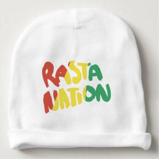 bandera de la pintada del reggae de la nación del gorrito para bebe