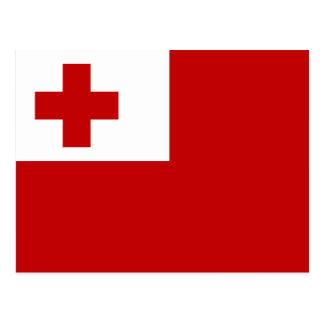Bandera de la postal de Tonga