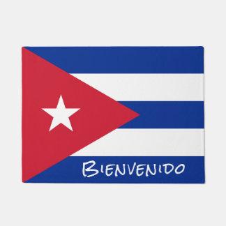 Bandera de la recepción de Cuba