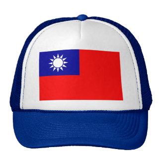Bandera de la República de China (Taiwán) - 中華民國國旗 Gorros Bordados