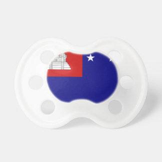 Bandera de la república del Khmer Chupetes Para Bebés