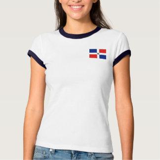 Bandera de la República Dominicana + Camiseta del