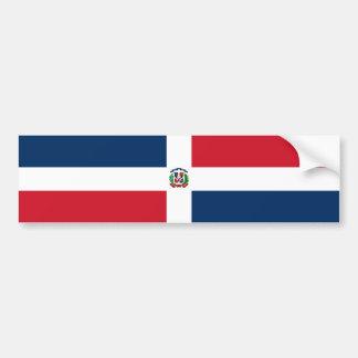 Bandera de la República Dominicana Pegatina Para Coche