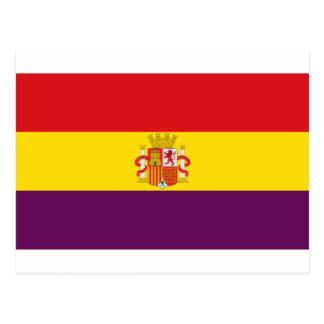 Bandera de la República Española Postal