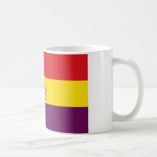 Bandera de la República Española Taza Clásica