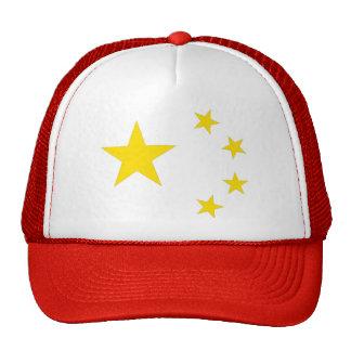 Bandera de la República Popular China Gorra
