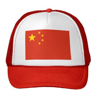 Bandera de la República Popular China Gorros