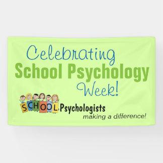 Bandera de la semana de la psicología de la