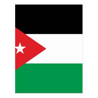 Bandera de la solidaridad de Gaza Turquía Tarjetas Postales