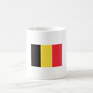 Bandera de la taza de Bélgica