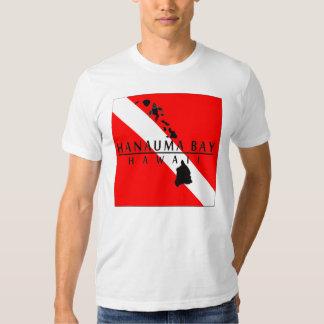 Bandera de la zambullida de Hawaii - bahía de Camisas