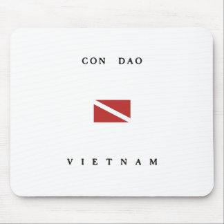 Bandera de la zambullida del equipo de alfombrilla de ratón