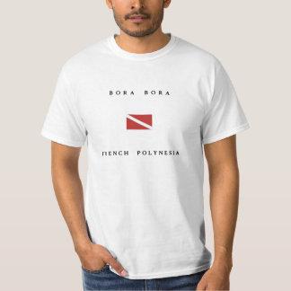 Bandera de la zambullida del equipo de camisetas