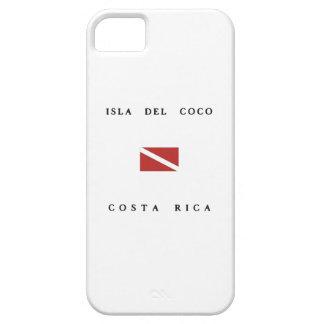Bandera de la zambullida del equipo de iPhone 5 Case-Mate fundas