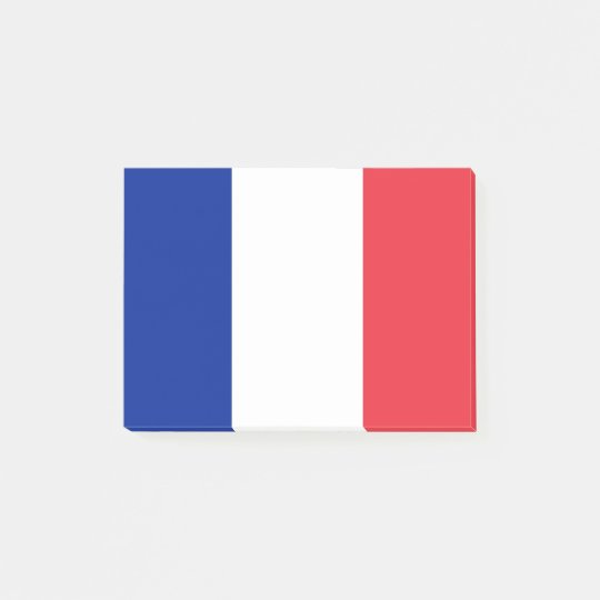 Bandera de las notas del Poste-it® de Francia