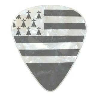 Bandera de las púas de guitarra de Bretaña
