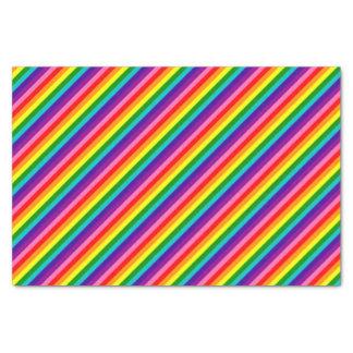 Bandera de las rayas de la original 8 del orgullo papel de seda