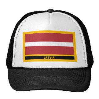 Bandera de Letonia Gorro