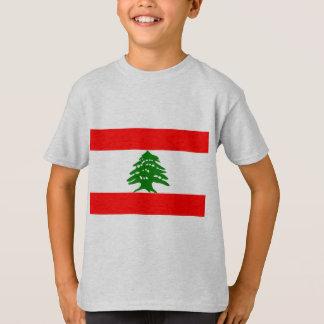 Bandera de Líbano Camiseta