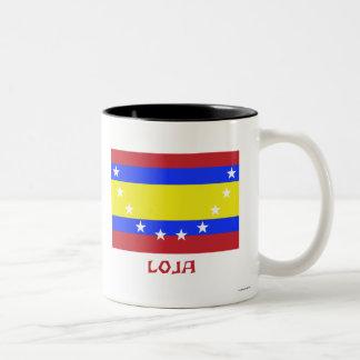Bandera de Loja con nombre Tazas De Café