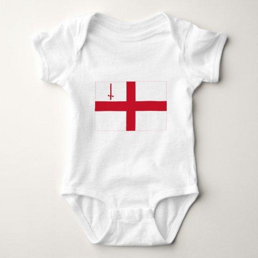 Bandera de Londres Body De Bebé