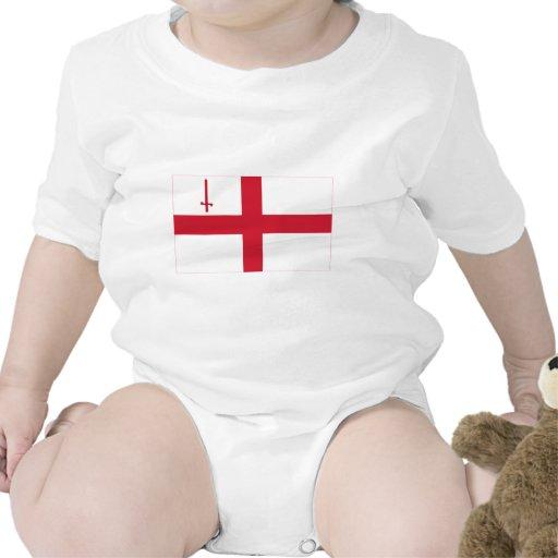 Bandera de Londres Traje De Bebé