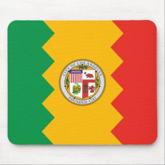 Bandera de Los Ángeles Alfombrillas De Ratones