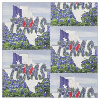 """Bandera de los Bluebonnets de Tejas y tela 4,5"""""""