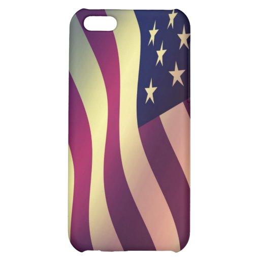Bandera de los E.E.U.U. del caso de IPhone 5