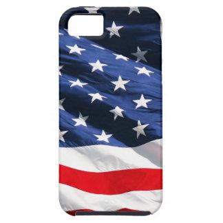Bandera de los E.E.U.U. iPhone 5 Case-Mate Cárcasa