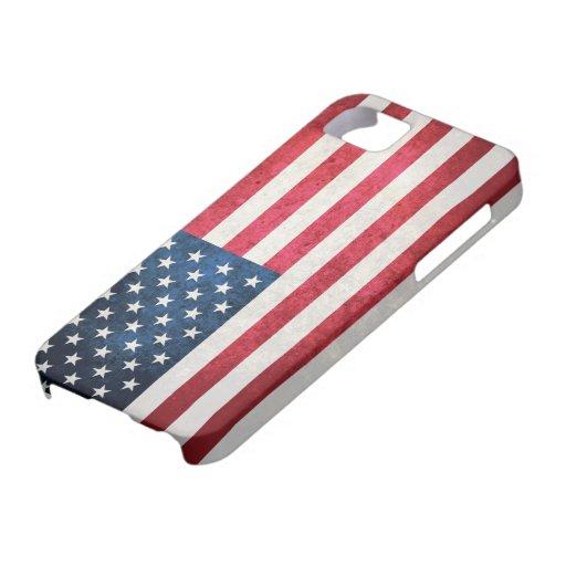 Bandera de los E.E.U.U. iPhone 5 Protectores
