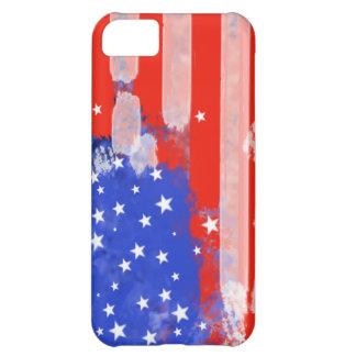 Bandera de los E.E.U.U. Funda Para iPhone 5C