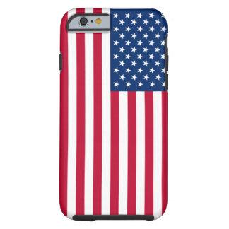 Bandera de los E.E.U.U. Funda Para iPhone 6 Tough