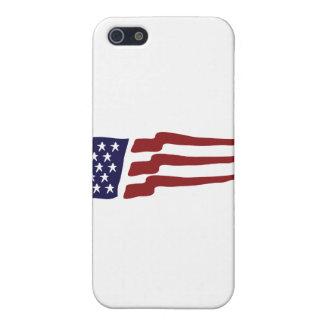 Bandera de los E.E.U.U. iPhone 5 Cárcasas