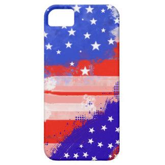 Bandera de los E.E.U.U. iPhone 5 Case-Mate Protector