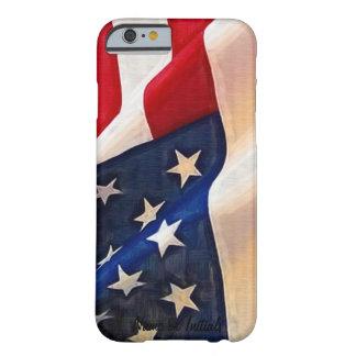 Bandera de los E.E.U.U. - viejo orgullo del Funda Para iPhone 6 Barely There