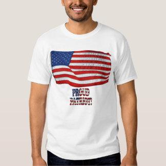 BANDERA de los E.E.U.U. y camiseta orgullosa del
