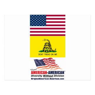 Bandera de los E.E.U.U. y de Gadsden: Movimiento A Tarjetas Postales