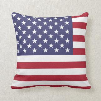Bandera de los Estados Unidos de América Cojín Decorativo
