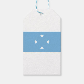 Bandera de los Federated States of Micronesia Etiquetas Para Regalos