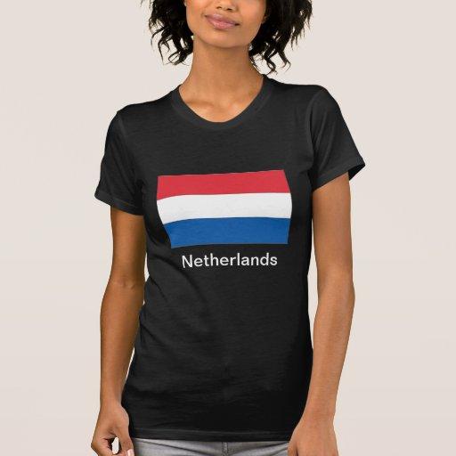 Bandera de los Países Bajos Camisetas
