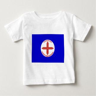 Bandera de los Texas Rangers de Terry Camisetas