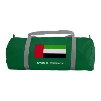 Bandera de los UAE United Arab Emirates Bolsa De Deporte