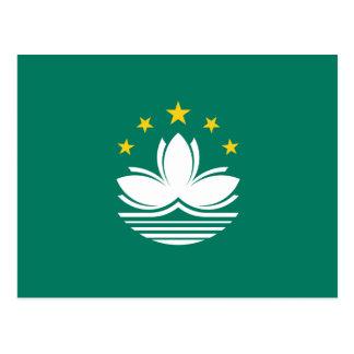 Bandera de Macao Postal