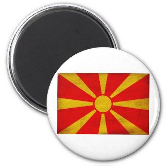 Bandera de Macedonia Imanes De Nevera