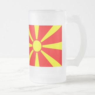 Bandera de Macedonia Taza