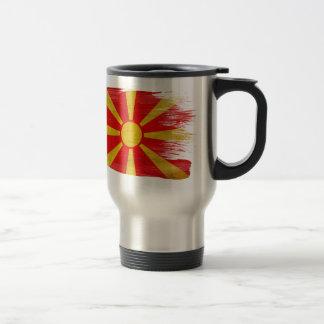 Bandera de Macedonia Taza Térmica