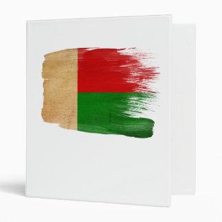Bandera de Madagascar Carpeta 2,5 Cm