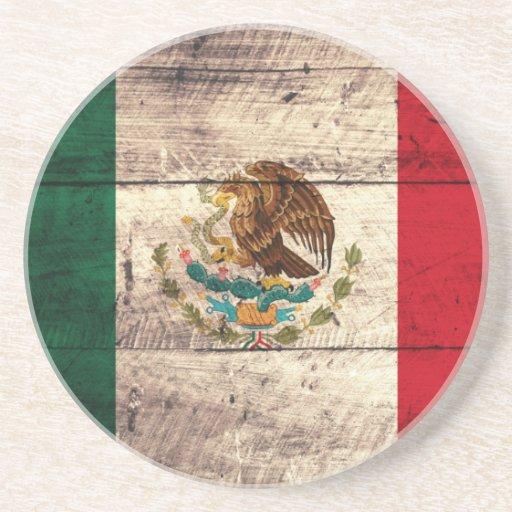 Manualidades de bandera de mexico for Manualidades con madera vieja