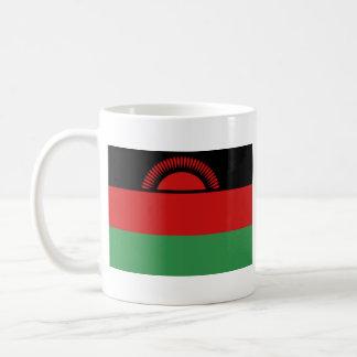 Bandera de Malawi y taza VIEJAS del mapa